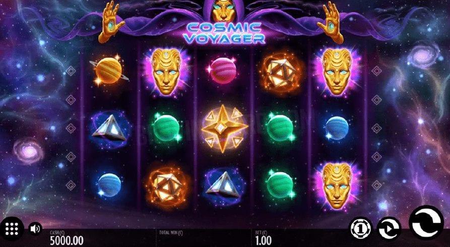 Cosmic Voyager Slot Gameplay