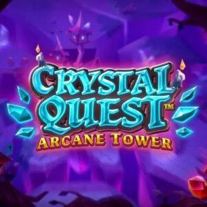 Crystal Quest Arcane Tower Slot Logo