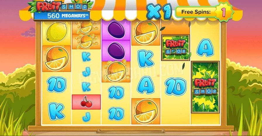 Fruit Shop Megaways Slot Free Spins