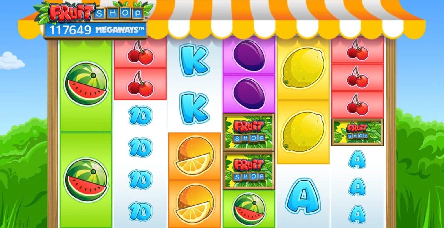 Fruit Shop Megaways Slot Gameplay