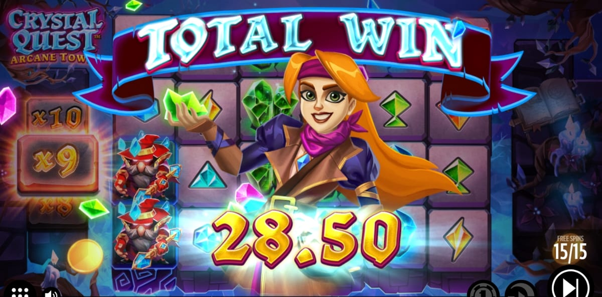 Crystal Quest Arcane Tower Slot Free Spins