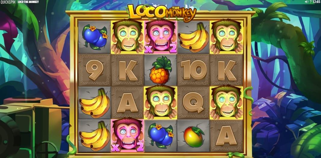 Loco The Monkey Slot Free Spins