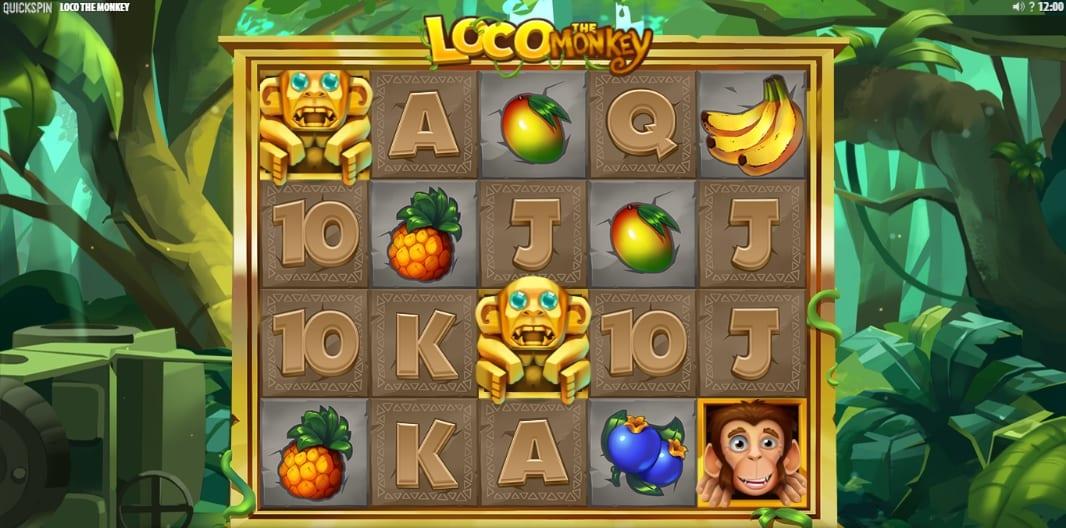 Loco The Monkey Slot Gameplay