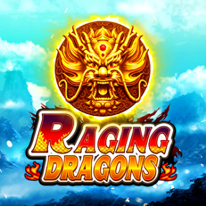 Raging Dragons Slot Logo