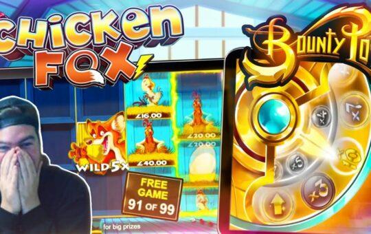 BIG WINS!! 2 Big Wins on Bounty Pop and Chicken Fox 5x Skillstar!