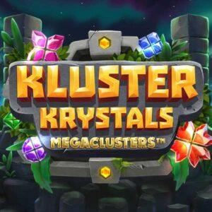 Kluster Krystal Megaclusters slot logo