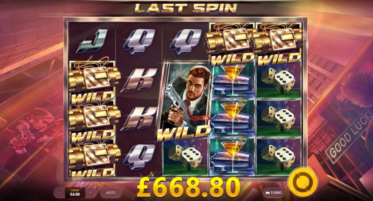 Agent Royale Slot Free Spins