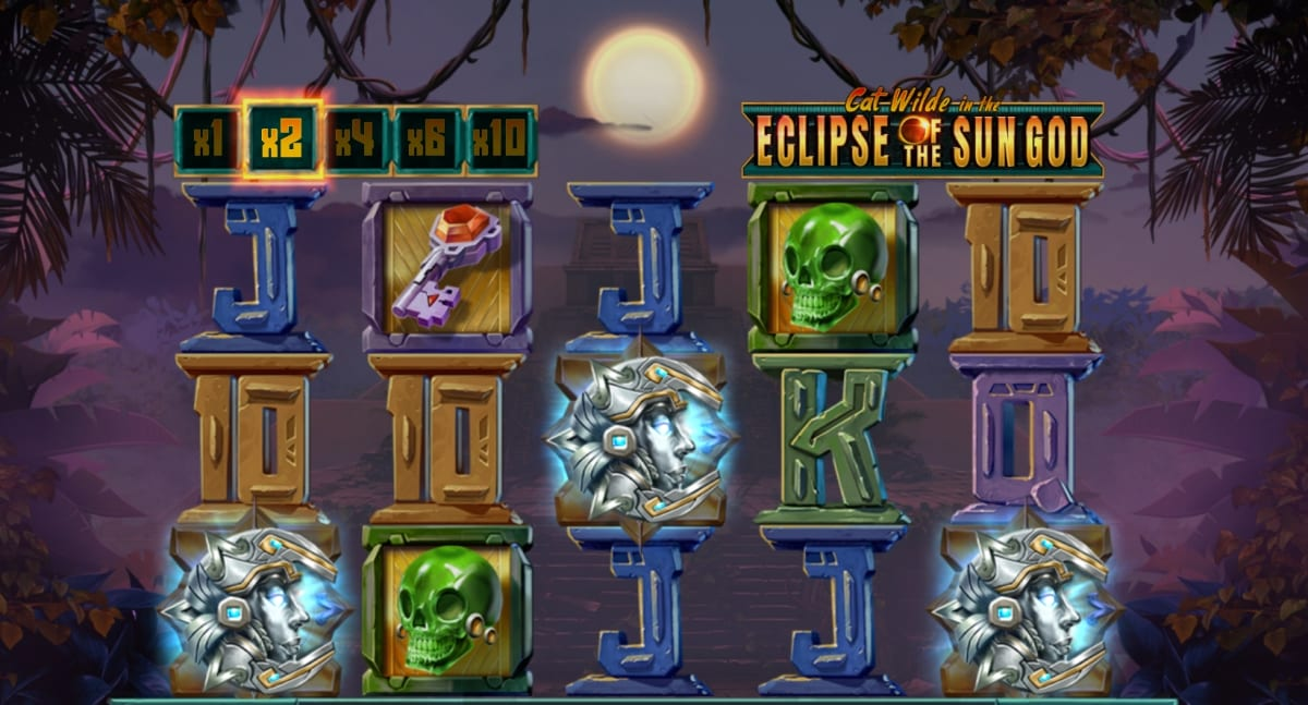 Cat Wilde in the Eclipse of the Sun God Slot Free Spins