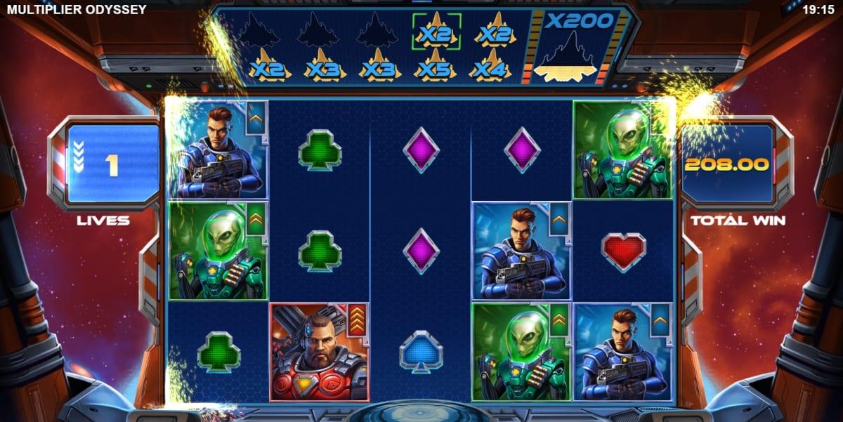 Multiplier Odyssey Slot Free Spins