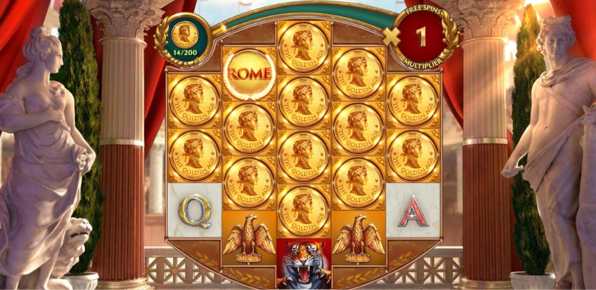 Rome The Golden Age Slot Free Spins
