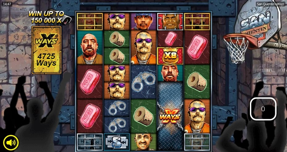 San Quentin xWays Slot Free Spins