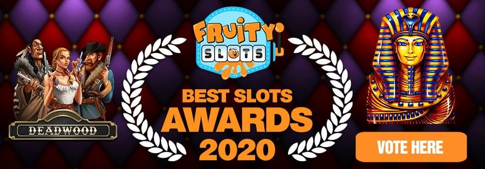 Fruity Slots awards 2020