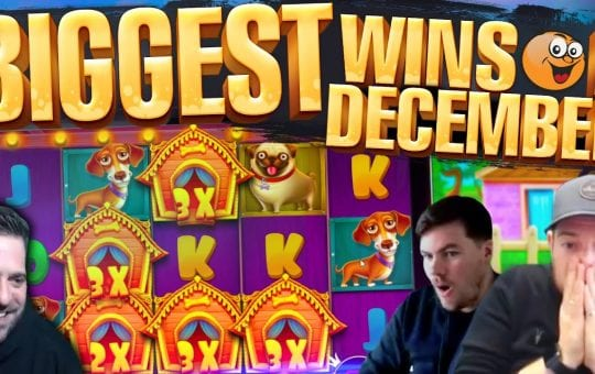 FRUITY SLOTS December HIGHLIGHTS! Epic Slot Wins!!