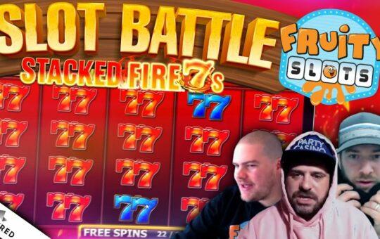 SLOT BATTLE SUNDAY!! Inspired Gaming vs Fruity Slots!