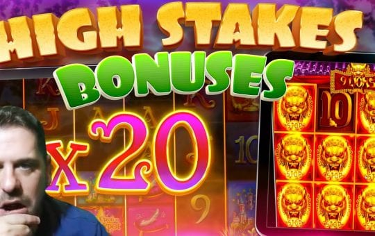*HIGH STAKES* Slots Bonus Compilation!