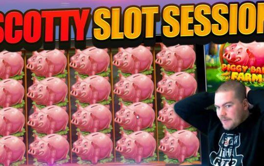 ONLINE SLOT BONUS COMPILATION feat Piggy Bank Farm And MORE!