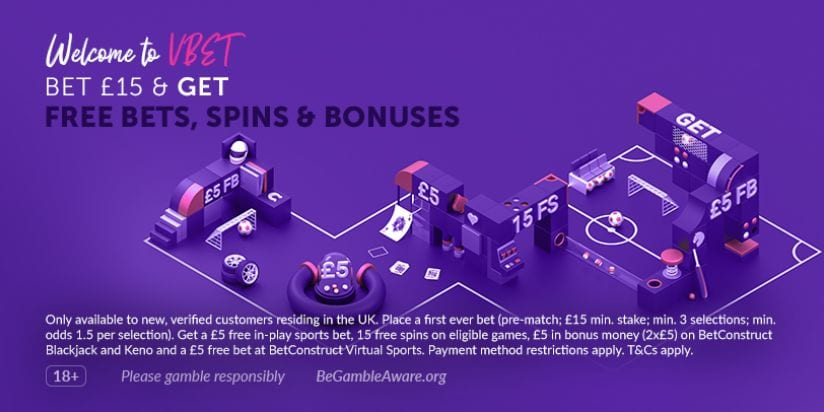 VBet Casino Welcome Offer