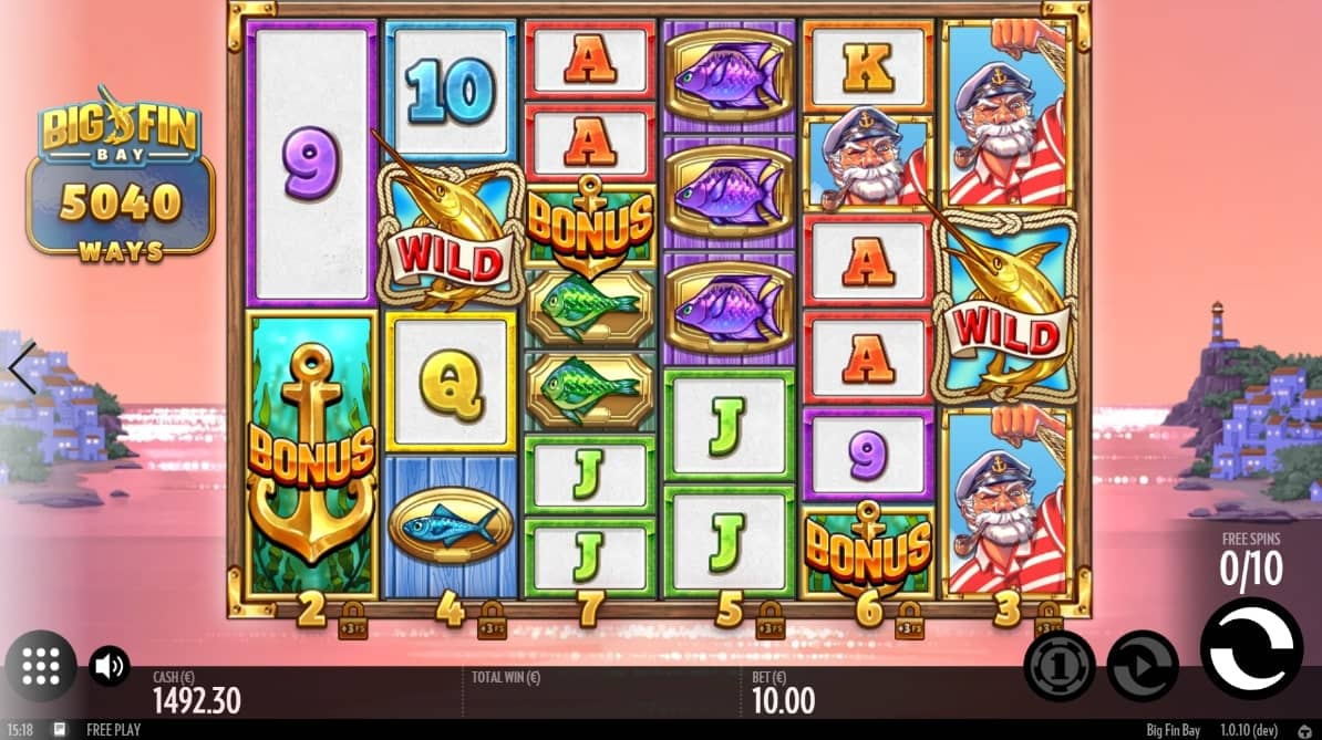 Big Fin Bay Slot Bonus