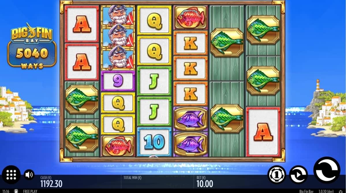 Big Fin Bay Slot Gameplay