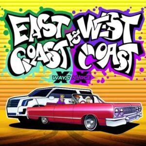 East Coast vs West Coast Slot Logo