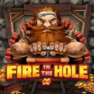 Fire in the Hole xBomb Slot Logo