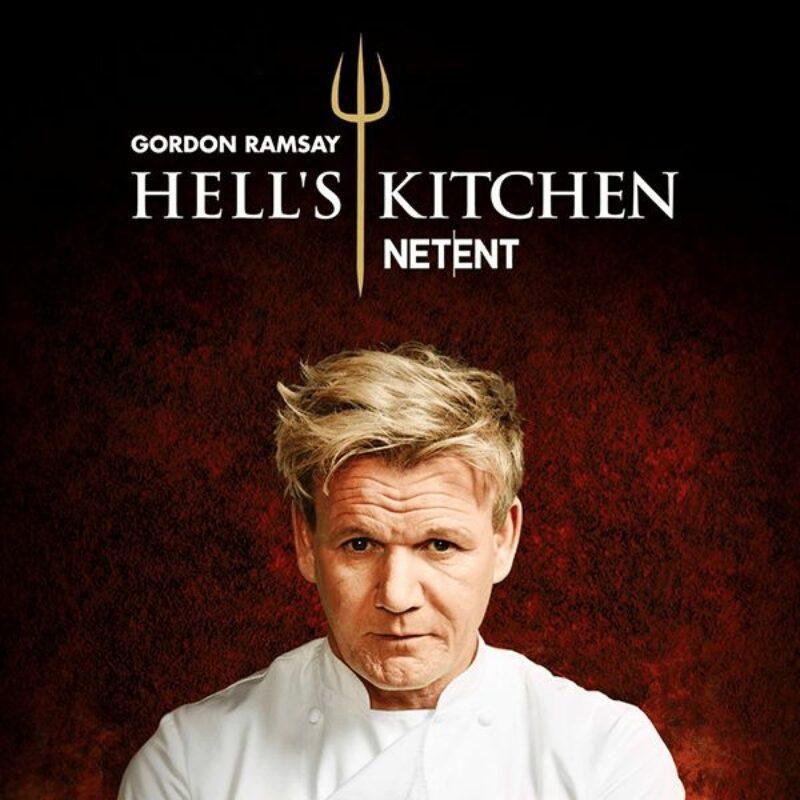 Gordon Ramsay Hell's Kitchen Slot Logo