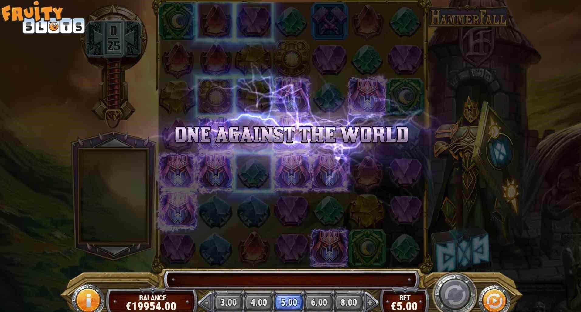 Hammerfall Slot Feature