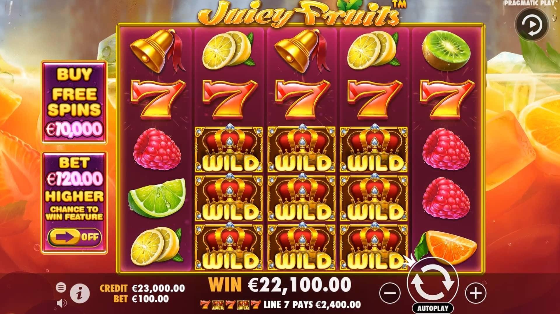 Juicy Fruits Slot Base Game