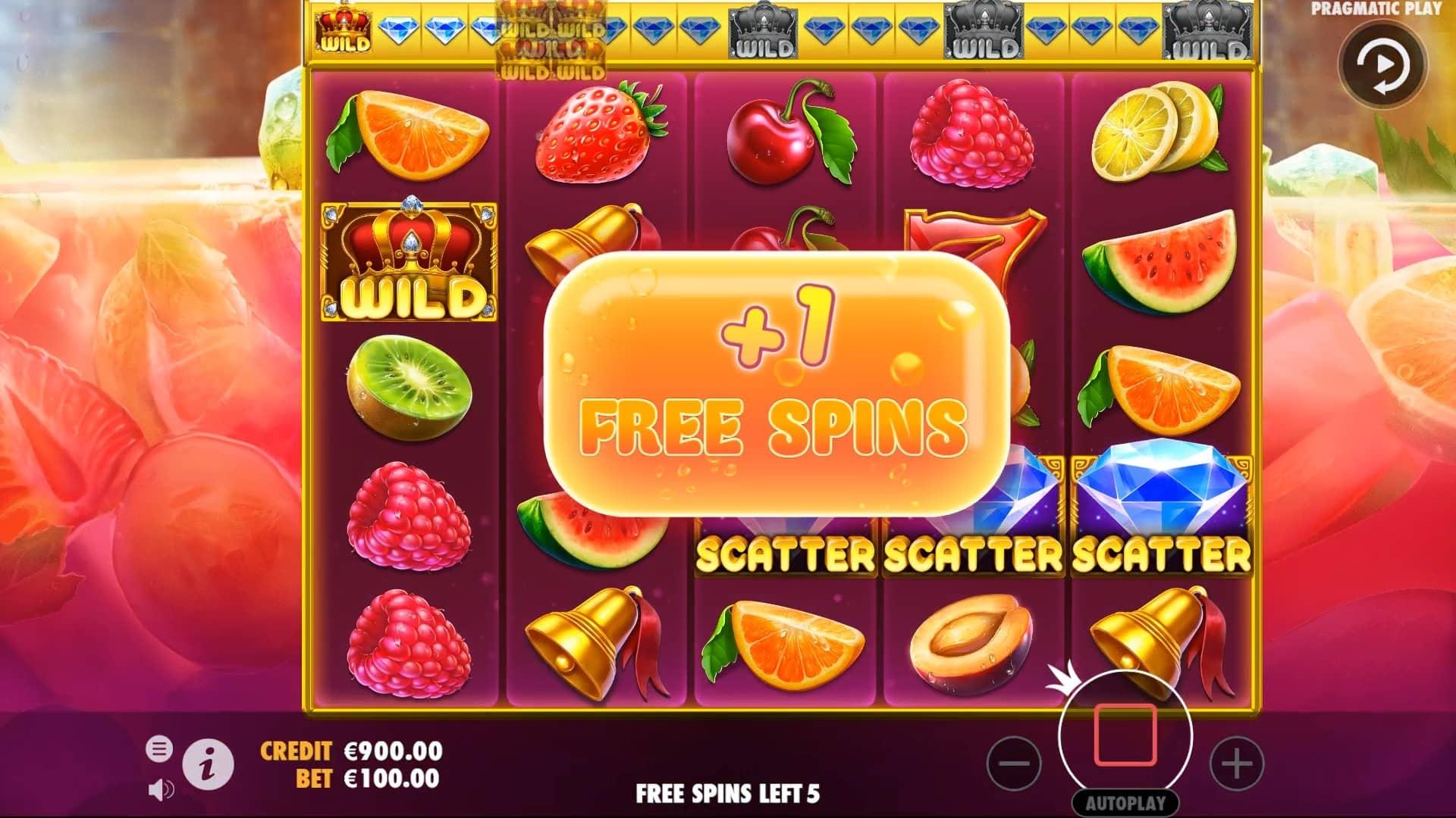 Juicy Fruits Slot Free Spins