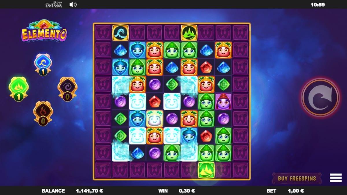 Elemento Slot Gameplay