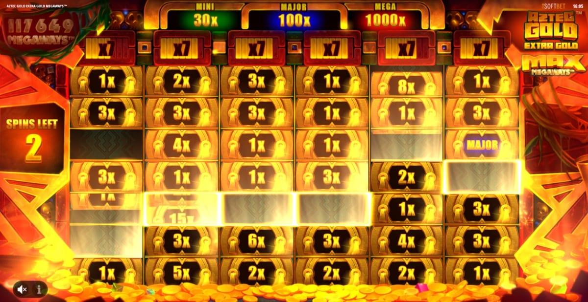 Aztec Gold: Extra Gold Megaways Slot Free Spins