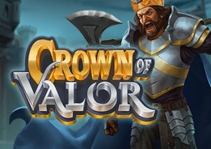 Crown of Valor Slot Logo