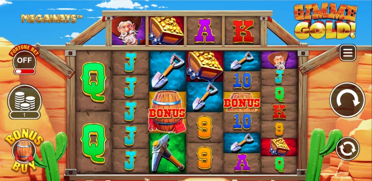 Gimme Gold Megaways Slot Game Play