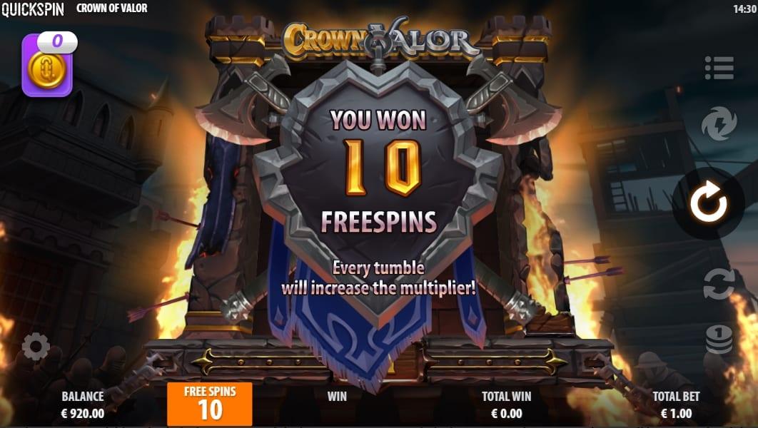 Crown of Valor Bonus