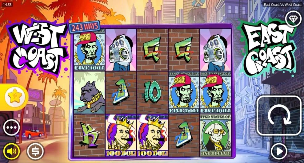 East Coast vs West Coast Slot Gameplay