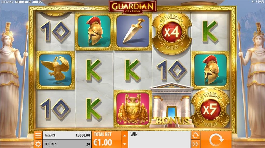 Guardian of Athens Slot Gameplay