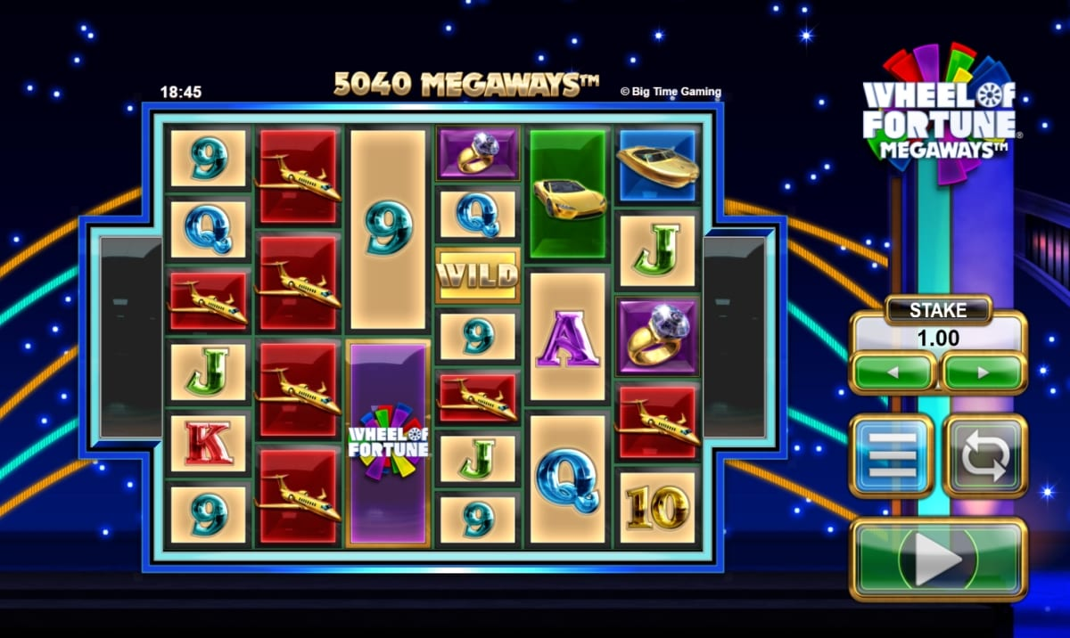 Wheel of Fortune Megaways Gameplay