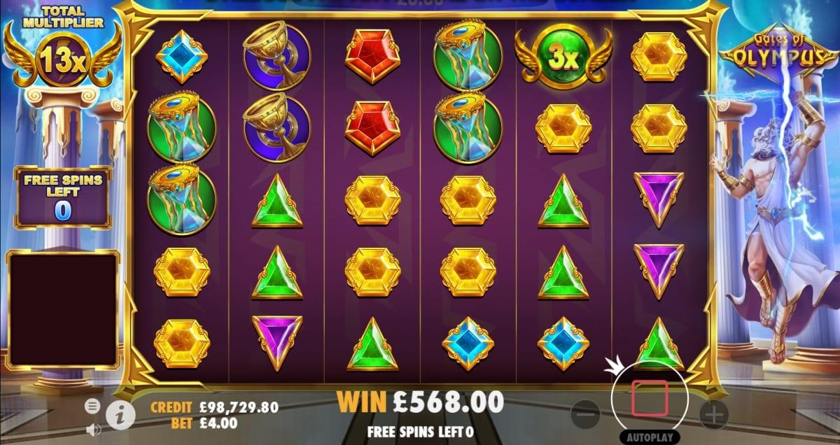 Gates of Olympus Slot Free Spins