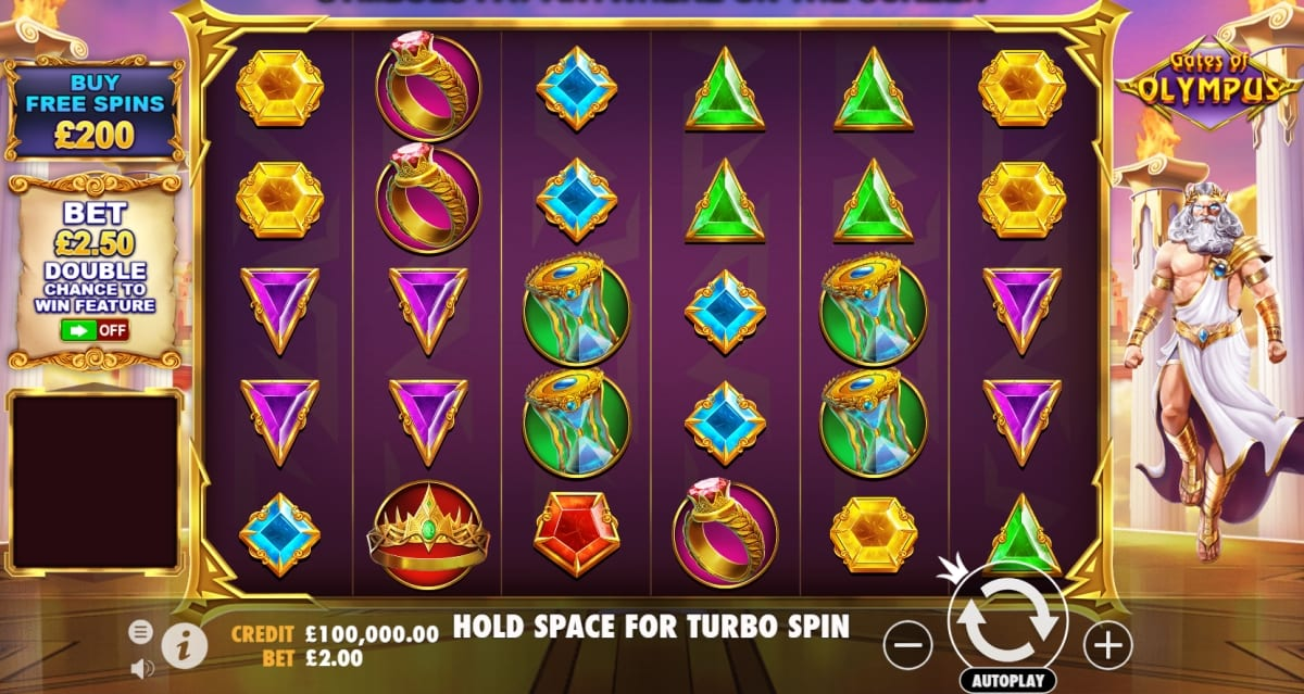 Gates of Olympus Slot Gameplay
