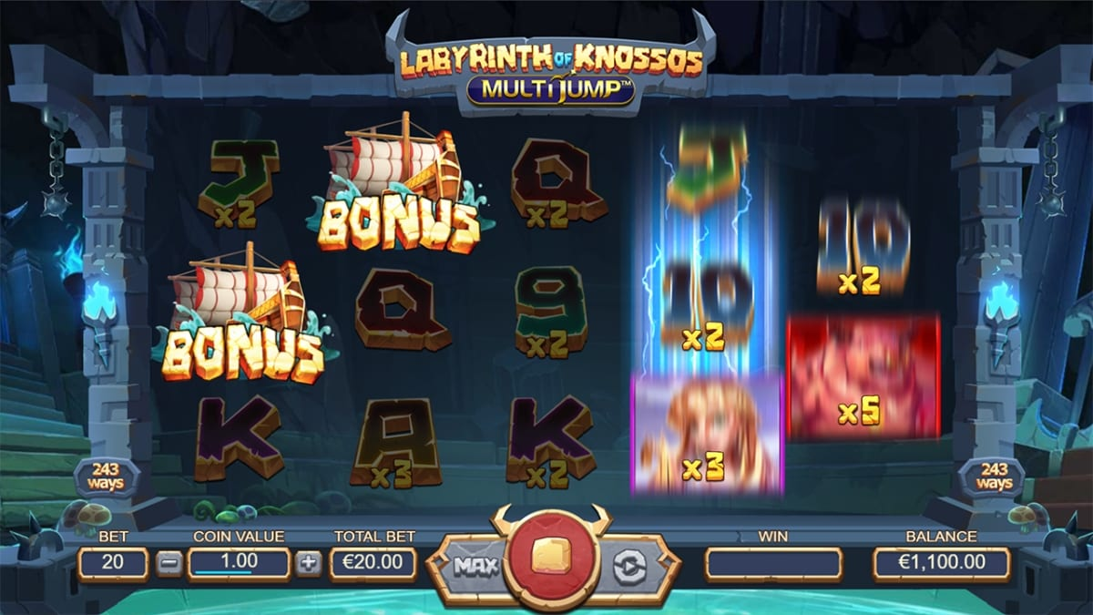 Labyrinth of Knossos Free Spins