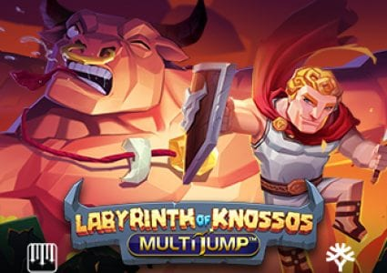 Labyrinth of Knossos Slot Logo