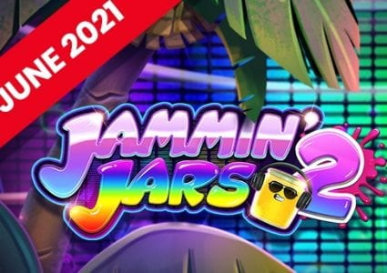 Jammin' Jars 2 Slot Logo