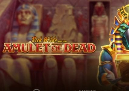 Rich Wilde and the Amulet of Dead Slot Logo