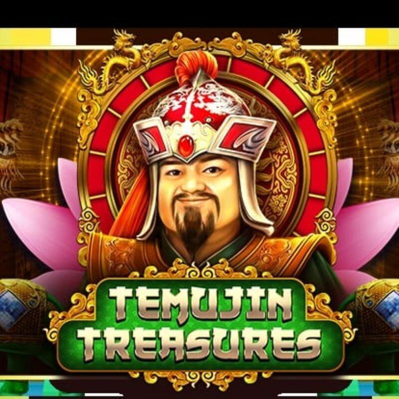 Temujin Treasures Slot Logo
