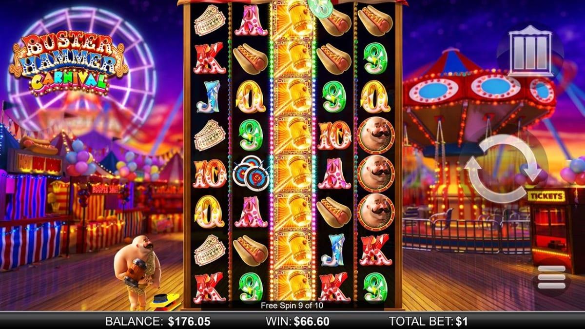 Buster Hammer Carnival Bonus