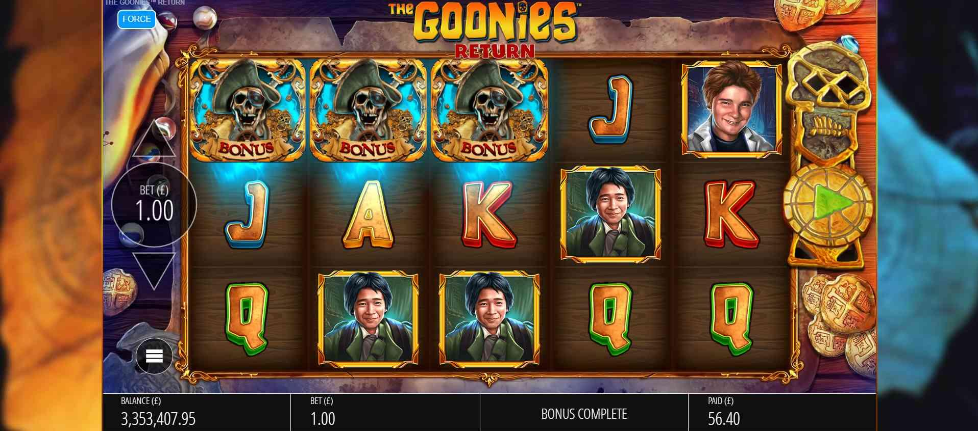 The Goonies Return Slot Review