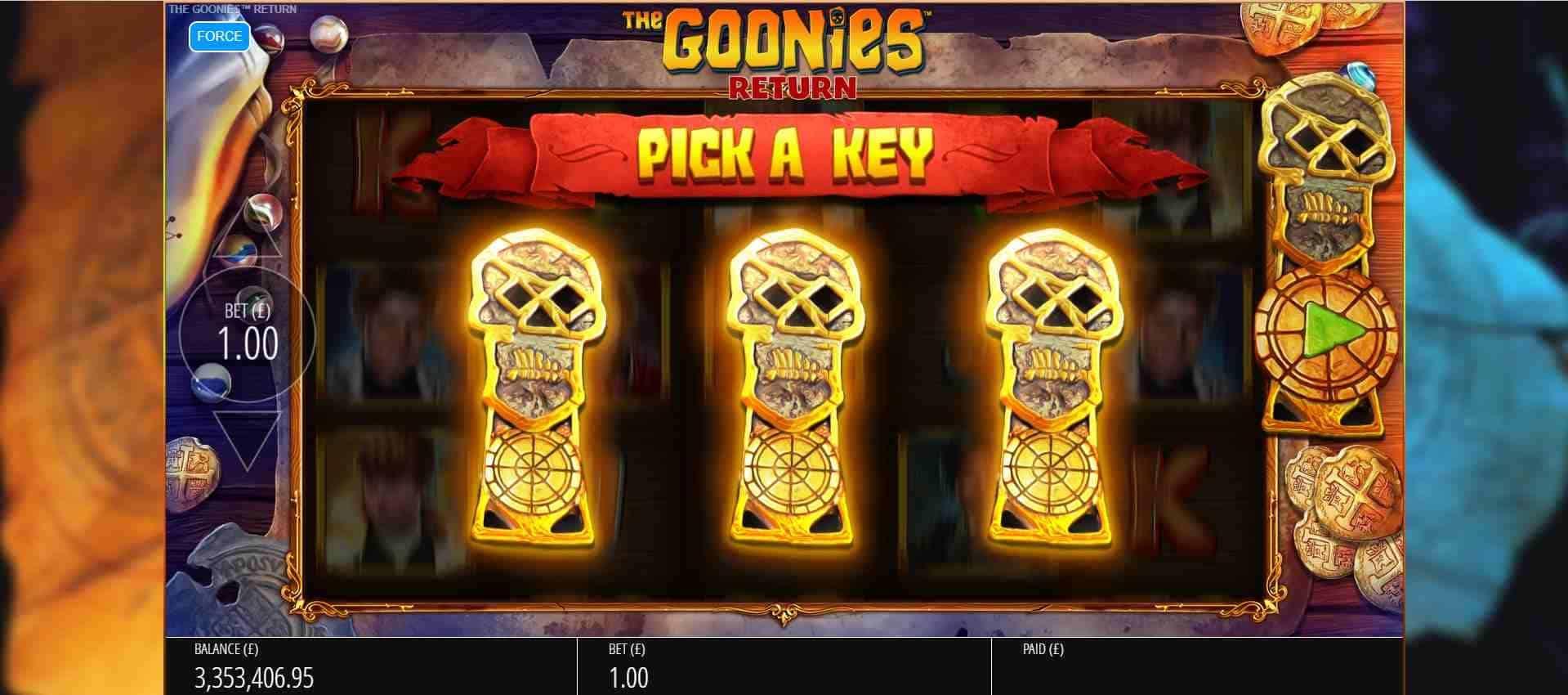 The Goonies Return Key of Plenty
