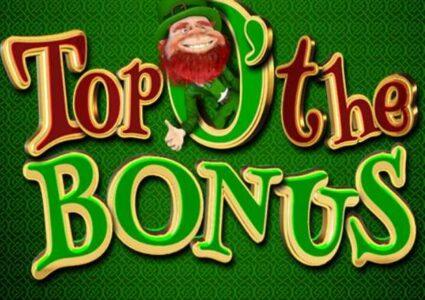 Top O' The Bonus Slot Logo