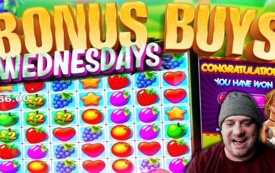 SLOTS BONUS BUY WEDNESDAYS FEAT. VIEWERS! Episode #5