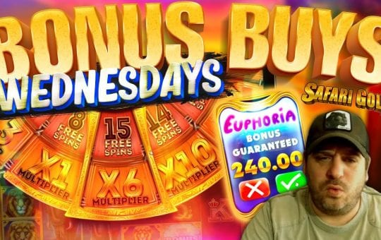 SLOTS BONUS BUY WEDNESDAYS FEAT. VIEWERS! Episode #6